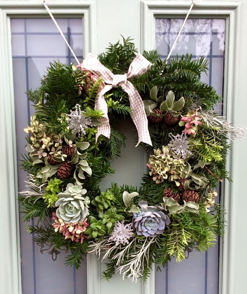 Succlulent Wreath