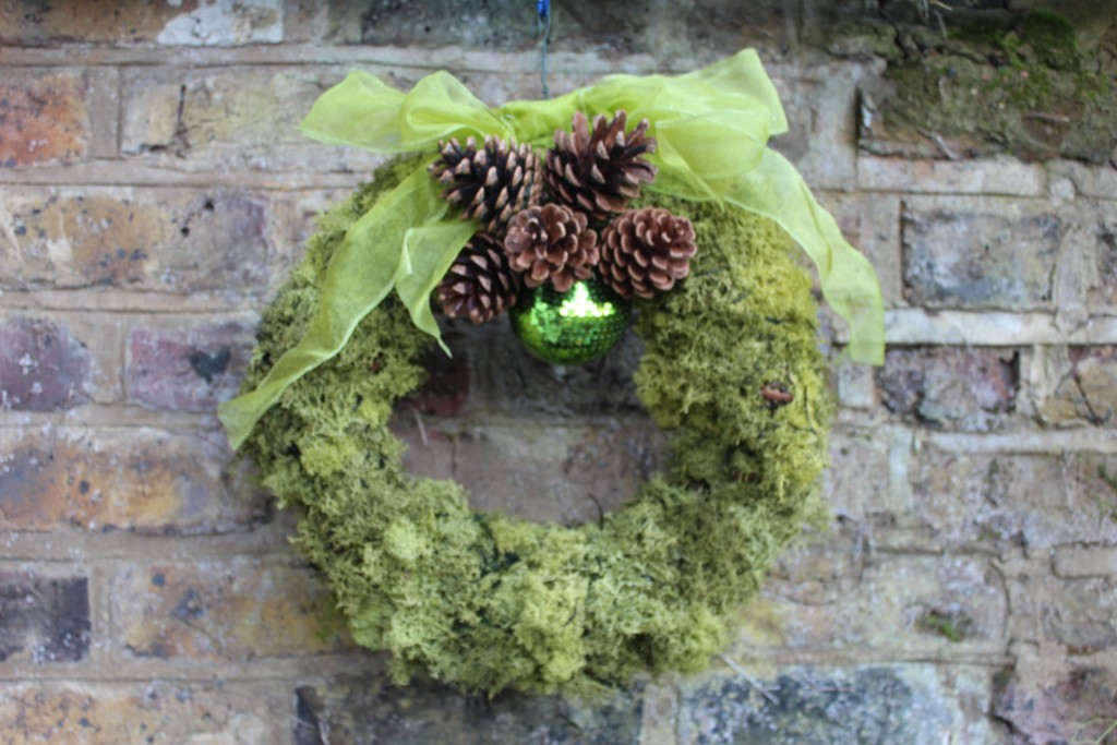 Moss & Cone Wreath